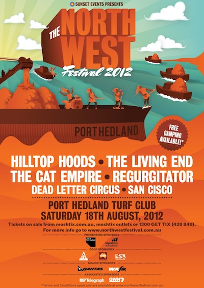 Dead Letter Circus announced for North West Festival 2012! post image